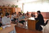 Останній урок «Християнської етики» в Новоград-Волинській школі-інтернаті в цьому році.