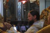 Архієпископ Никодим привітав Городницького Архіпастиря із Днем Ангела.