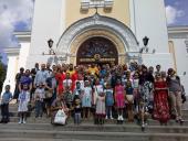 Подячний молебень для учнів воскресної школи