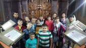 Екскурсія кафедральним собором  для дітей міського культурно-спортивного центру підліткового клубу!