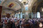Митрополит Никодим очолив служіння святої літургії в Успенському арієрейському соборі!