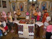Молебень на початок нового навчального року звершили у Свято-Хрестовоздвиженському храмі села Великої П'ятигірки