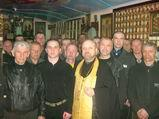 Напередодні Великодня засуджених Бердичівської виправної колонії (№70) сповідали і причастили.