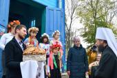 Митрополит Никодим з архієрейським візитом відвідав село Троковичі з нагоди 230-ліття козацького храму!