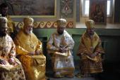 Житомирський Архіпастир привітав архієпископа Сарненського і Поліського Анатолія із ювілеєм.