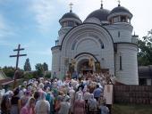 Престольне свято в селищі Новогуйвинське.