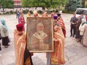 Чудотворний образ святителя Миколая з Крупицького Батуринського Свято-Миколаївського монастиря у Бердичеві.