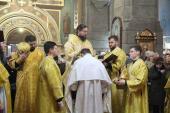 Під час воскресної літургії митрополит Никодим звершив дияконську хіротонію!