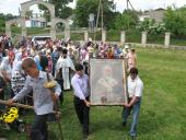 Ікона з Батуринського монастиря побувала на Ружинщині.