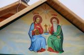 Урочистостi з нагоди Дня Незалежностi України та Свята села у Райках розпочалися  Богослужiнням у Свято-Троїцькому храмi
