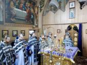 На першій літургії Напередосвячених Дарів духовенство Попільнянського благочиння молились разом!