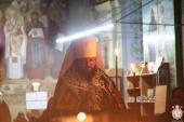 Четверту частину покаянного канону митрополит Никодим звершив у двох храмах!
