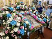 Митрополит Никодим взяв участь у святкуванні з нагоди шанування Браїлівської ікони Божої Матері.