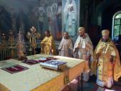 Петрів піст: загальна сповідь духовенства Бердичівського благочиння і  соборна Божественна Літургія у Свято-Миколаївському соборі