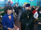 Священик привітав шкільну родину Великоп'ятигірської ЗОШ І-ІІ ступенів із 50-річним ювілеєм!