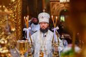 У неділю сьому після Пасхи, святих отців Першого Вселенського Собору митрополит Никодим звершив Божественну літургію у кафедральному соборі.