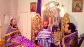 Соборная литургия Преждеосвященных Даров.