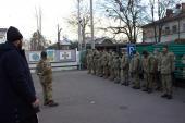Клірики кафедрального собору відвідали Житомирський зональний відділ військового правопорядку!