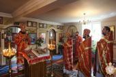 Архіпастир очолив служіння літургії в день свята відданя Пасхи Христової!