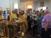 На навчальний рік благословили діток у Свято-Ольгинському храмі м. Житомира!
