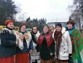 Хор Свято-Покровського храму с. Мирославки взяв участь у ІІ-му районному фестивалі колядок і щедрівок «Різдвяний передзвін»