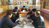 Собрание духовенства Коростышевского благочиния