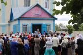 Архієрейська літургія у Свято-Успенському храмі с. Старосільці!