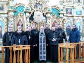 В Свято-Покровському храмі с. Паволоч була відслужена літургія Напередосвячених Дарів!