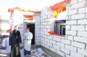 Клірики Спасо-Преображенського кафедрального собору відвідали сім'ю, в якої згорів будинок!