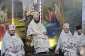 Митрополит Никодим очолив Божественну літургію у Свято-Успенському архієрейському соборі на Подолі!