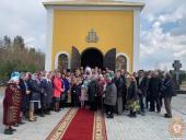 Прутівка. Освячення каплиці на честь святої княгині Єлени!