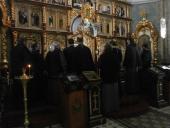 Загальна сповідь духовенства Бердичівського благочиння і соборна Божественна Літургія Напередосвячених Дарів