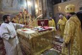 Дияконська хіротонія у Спасо-Преображенському кафедральному соборі!