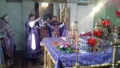 Священики Чуднівського округу звершили літургію Напередосвячених Дарів