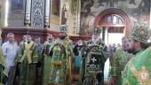 Городниця. Митрополит Никодим привітав намісника Свято—Георгієвського монастиря із Днем Ангела!