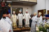 Митрополит Никодим очолив Божественну літургію у Спасо-Покровському жіночому монастирі у селі Вільха!