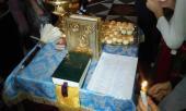 Звершено молебень перед початком навчання учнів воскресної школи.