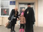Митрополит Никодим взяв участь у святковому «Різдвяному балі», що відбувся в міському Будинку Культури!