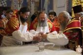 Митрополит Никодим взяв участь в освяченні Свято-Варваринського храму м. Києва!