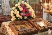 В день пам'яті преподобного Сави Освященного митрополит Никодим очолив літургію у Свято-Успенському архієрейському соборі!