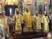 Митрополит Никодим звершив святкову літургію у Свято-Успенському кафедральному соборі м.Володимир-Волинський.
