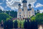 В день пам`яті святого преподобного Серафима Саровського митрополит Никодим очолив Божественну літургію у Свято-Анастасіївському монастирі!