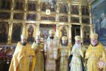Митрополиче богослужіння в день шанування святих апостолів Петра і Павла відбулось у Свято-Іаківлівському храмі м. Житомира!