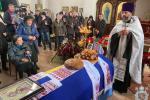 Священослужителі Житомирської єпархії звершили чин відспівування загиблого курсанта Дмитра Студінського.