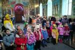 До архієрейського собору завітали найменші колядники!