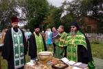 У селі Великій П'ятигірці освятили нові куполи і хрести Свято-Хрестовоздвиженського храму!