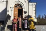 Місто Житомир об'їхали із мощами угодників Божих та Древом Господнім!